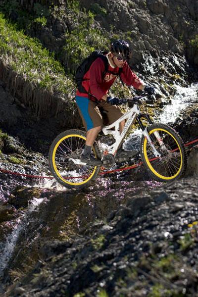 Das Kleinwalsertal: Hot Spot für Mountainbiker.  Foto: Markus Greber