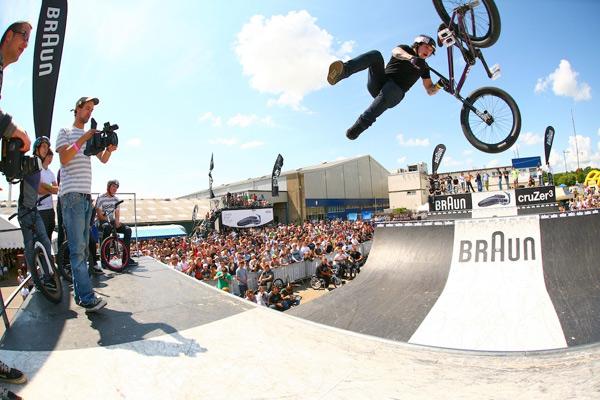 Braun Cruzer Tour 2008 UK.  Foto: Chris Woodage