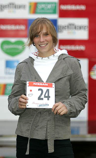Nachwuchstalent Laura Brethauer aus Stuttgart.  Foto: privat