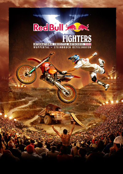 Freestyle Motocross auf Weltniveau bei den Red Bull X-Fighters.