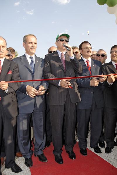Feierliche Eröffnung durch Ministerpräsidenten Erdogan.  Foto: ID+MA GmbH