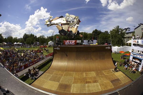 Skateboarder, BMXer und MTBer treffen sich in Karlsruhe beim Fest Cup 2008.  Foto: festcup.com