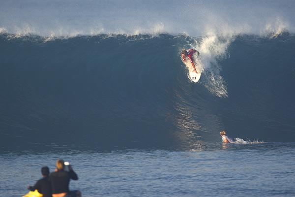 Gewinner Heath Joske im balinesischen Keramas.  Foto: Tim Hain
