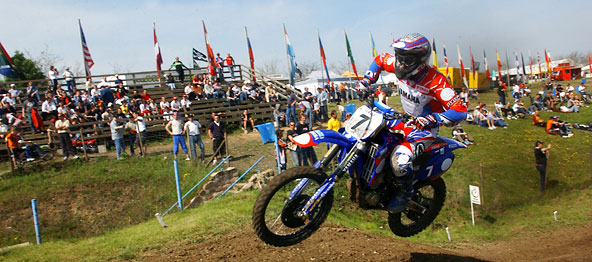 Einziger deutscher WM-Lauf im Motocross in Teutschenthal.  Foto: Veranstalter
