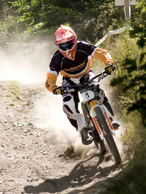 Gewinner des IXS Downhill Cups in Thale: Frank Schneider.  Foto: Thomas Dietze