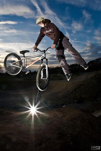 Stuttgarter MTB-Rider Tim Nemelka.  Foto: privat