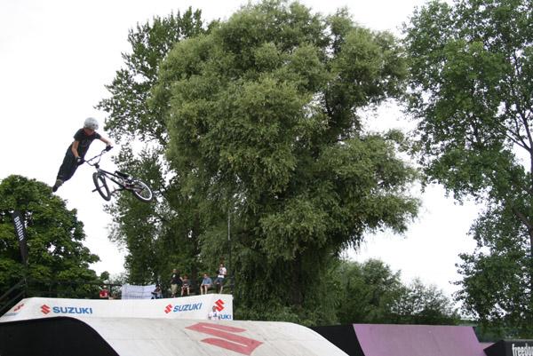 BMX Masters 2008 in Köln.  Foto: funsporting.com