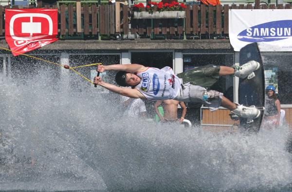Emilio Epstein ist heiß auf den Wettkampf auf der Donauinsel.  Foto: Norbert Wolfmayer