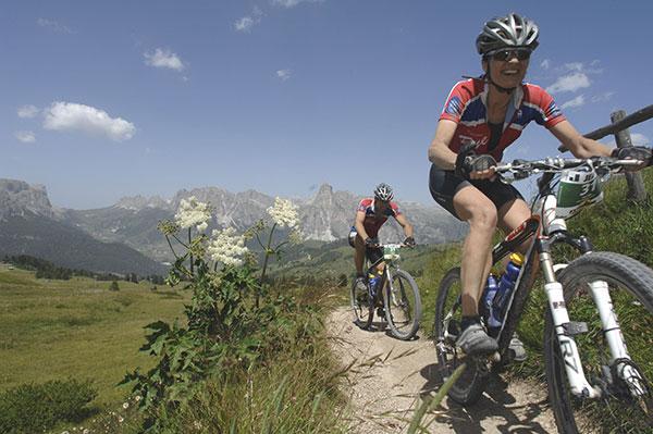 In Füssen geht es am 19. Juli für die Teilnehmer der Bike-Transalp 2008 los.  Foto: Veranstalter