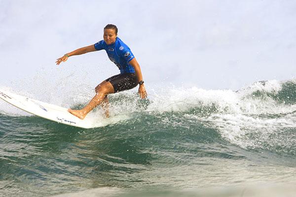 Gewinnerin Joy Monahan aus Hawaii.  Foto:Aquashot
