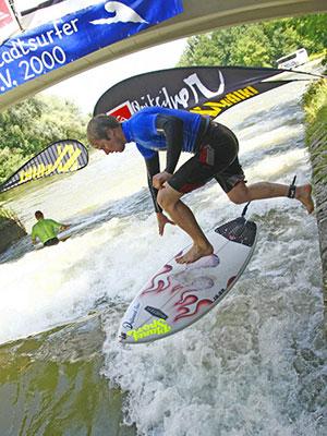 Die Munich Surf Open gehören zu einem der bedeutendsten Sweetwater-Surfevents der Welt.  Foto: flohagena.com