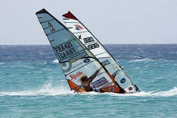 Julien Quintel und Patrik Diethelm.  Foto: www.pwaworldtour.com