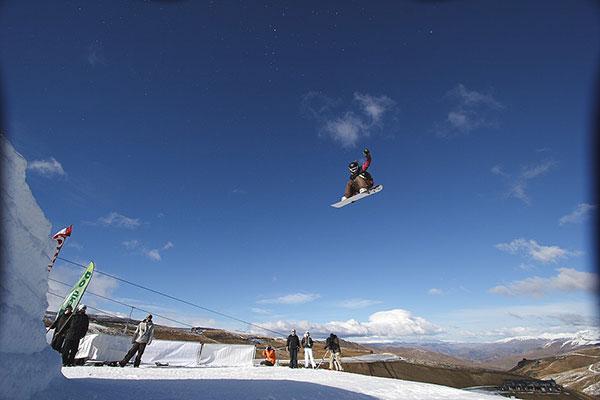 Eindrücke aus Neuseeland aus 2007.  Foto: TTR World Snowboard Tour/Jeremy Pierce