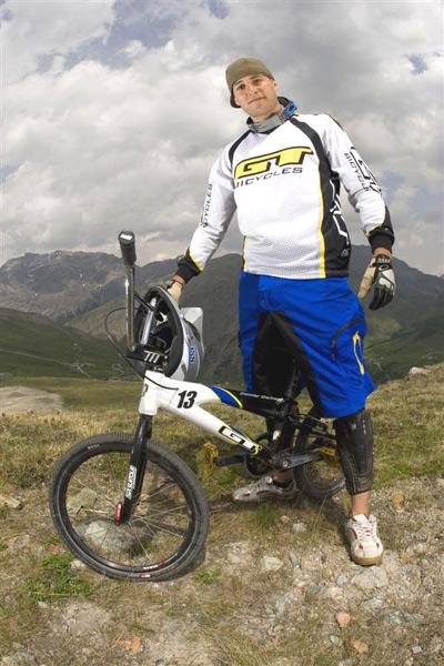 Der amtierende Vize-Weltmeister im BMX Roger Rinderknecht aus der Schweiz.  Foto: GT Bicycles