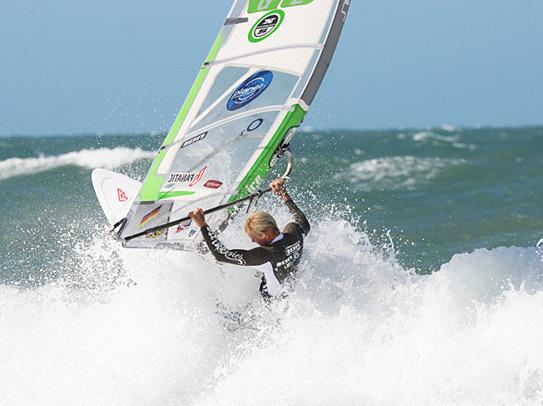 André Paskowski ist Gründungsmitglied des neuen Windsurfing Team Germany.  Foto: Windsurfing Team Germany