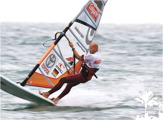 Der 12-malige Deutsche Meister Bernd Flessner gehört zum Kern des neuen Windsurfing Team Germany.  Foto: Windsurfing Team Germany