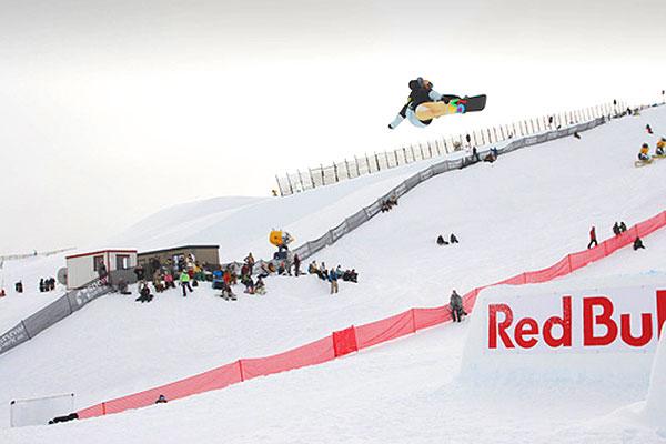 Der Norweger Mikkel Bang ist momentan Führender der TTR World Tour 08/09.  Foto: TTR World Snowboard Tour/ Miles Holden
