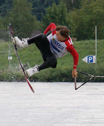 Dominik Hernler in Siegesstimmung.  Foto: Veranstalter