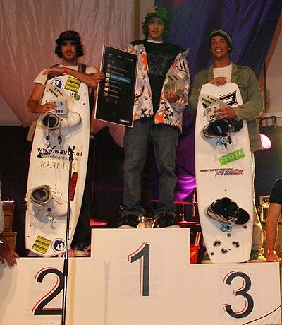 Die Gewinner des Austrian Wakeboard Cup 2008.  Foto: Veranstalter