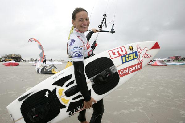 Kristin Boese nach ihrem Knöchelbruch wieder in Hochform.  Foto: HOCH ZWEI/Michael Kunkel