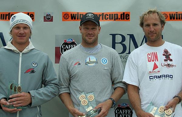 Die Gesamtsieger des DWC 2008 im Ostseebad Boltenhagen.  Foto: DWC