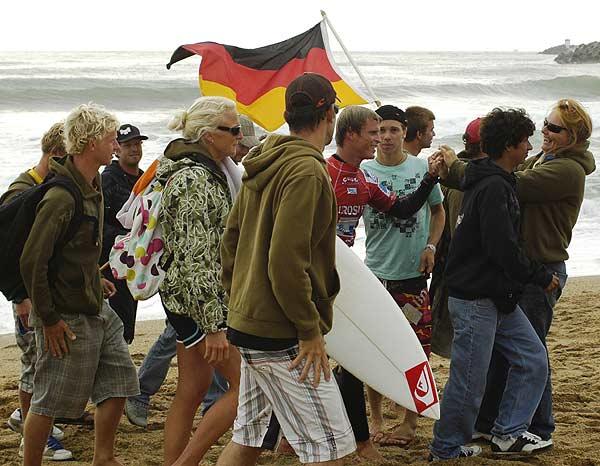 Das deutsche Nationalteam 2007.  Foto: DWV/ Meike Reijerman