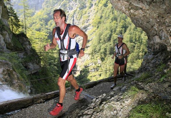 1.Etappe des Transalpine-Run 2008.  Klaus Fengler