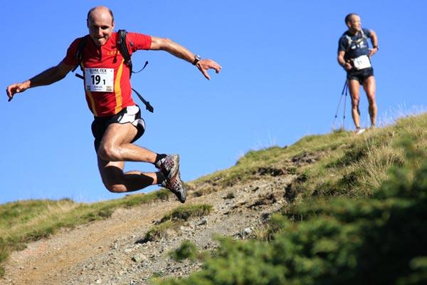 Tag 2 Transalpine-Run 2008.  Lars Schneider