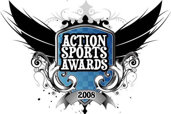Logo Action Sports Awards.