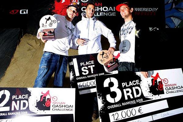 Tour Winner Korthaus, MCDermott & Hansen.  Foto: Thilo Brunner