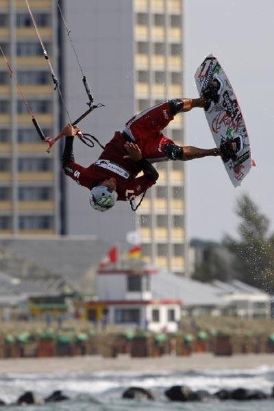 Überflieger Stefan Permien.  Foto: Veranstalter