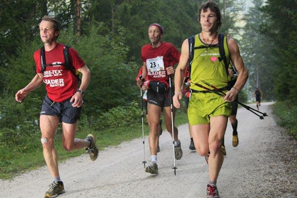 Transalpine-Run 2008.  Foto: Klaus Fengler