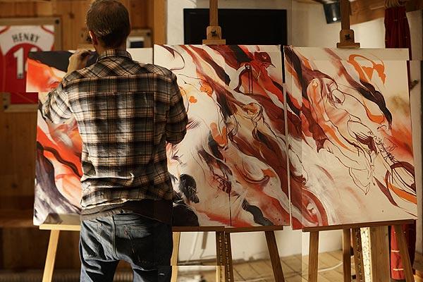 Künstler Will Barras.  Foto: Veranstalter