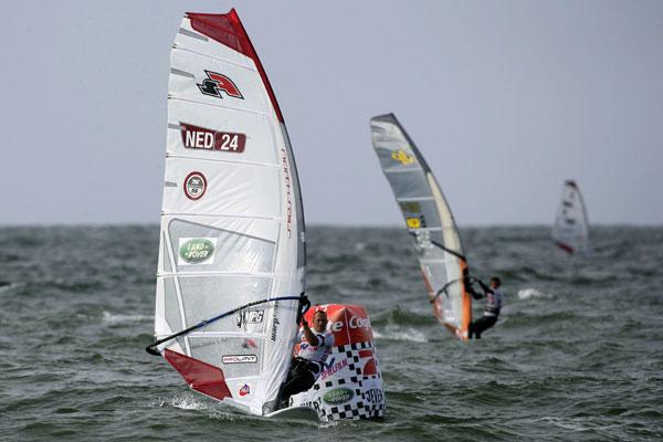 Peter Volwater aus den Niederlanden beim Surf World Cup auf Sylt.  Foto: Michael Kunkel, HOCH ZWEI