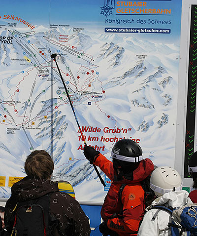 SAAC am Stubaier Gletscher.  Foto: Klaus Kranebitter