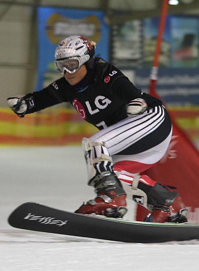 Claudia Riegler.  Foto: FIS - Rutger Geerling