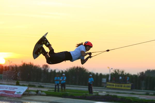 Die Cable Wakeboard Europameisterschaft fand erstmals in der Türkei statt.  Foto: Veranstalter