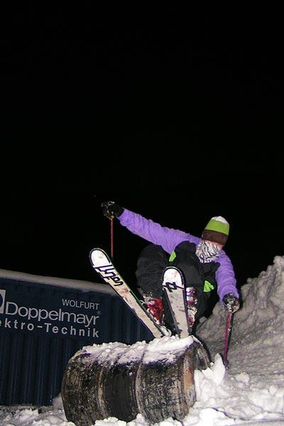 Chris Neumann am Hintertuxer Gletscher.  Foto: Bastian Bäumer