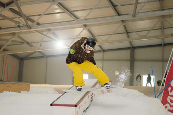 Skihalle Wittenburg.  Foto: Veranstalter