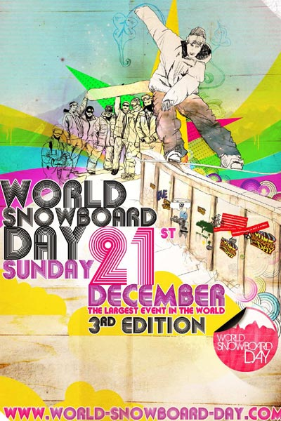 World Snowboard Day.  Foto: Veranstalter