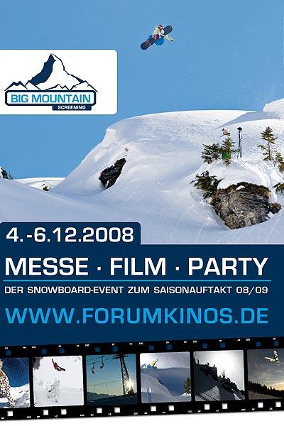 Film-Festival und Snowboard-Messe.  Foto: Veranstalter