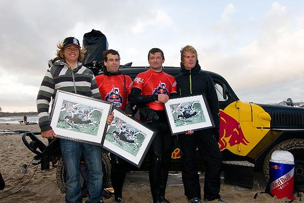 Die Sieger der Red Bull Big Days.  Foto: Red Bull Photofiles/Fotograph: Tom Körber