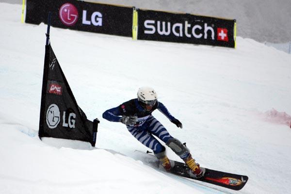 Patrick Bussler aus Deutschland.  Foto: FIS - Florian Ruth