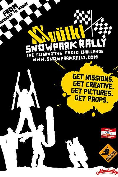 Völkl Snowpark Rally.  Foto: Veranstalter