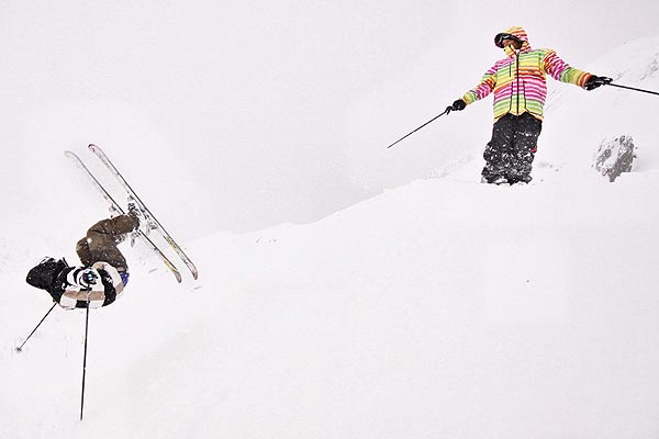 Young Blood Freeski Camp.  Foto: Luca Senoner