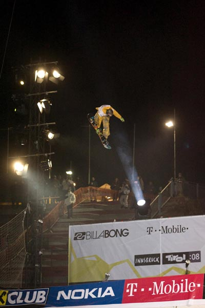 Air and Style 2008 in Innsbruck.  Foto: Billabong Air & Style Innsbruck-Tirol 08
