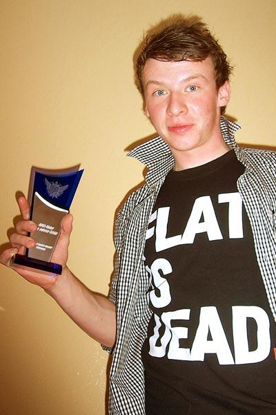 Waldemar Fatkin ist BMXer des Jahres 2008.  Foto: Privat