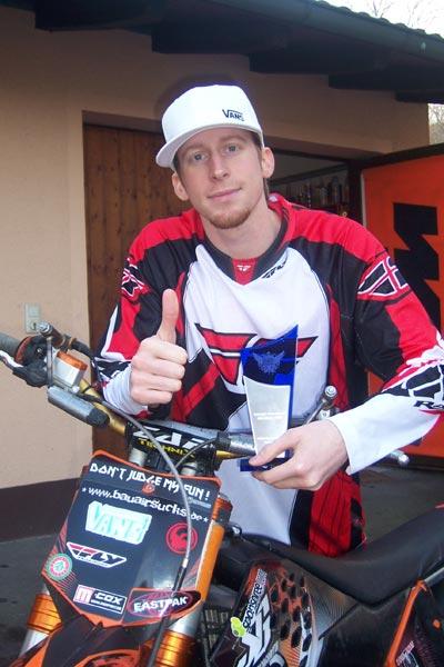 Fabian Bauersachs ist FMXer des Jahres.  Foto: Privat
