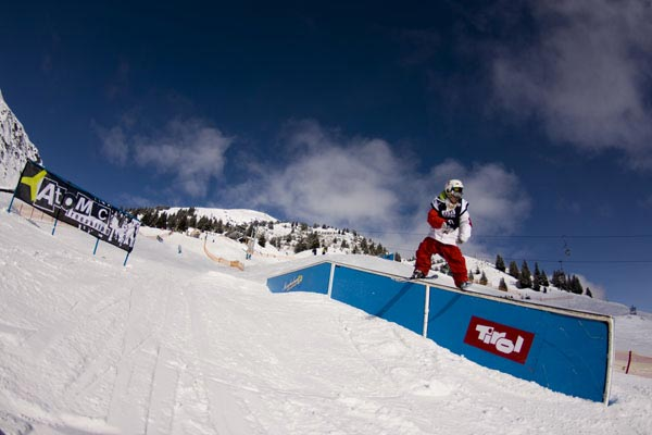 Austrian Freeski Open 2009.  Foto: Christoph Schoech