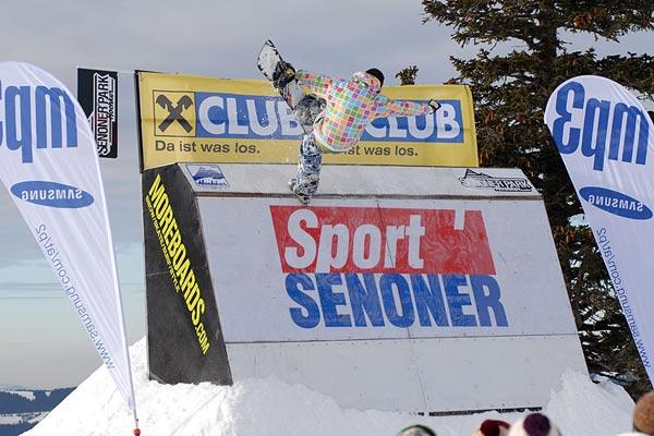 Seppi Scholler bei den Hochkar Open 2008.  Foto: Jan Zach